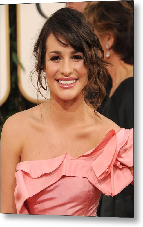 Lea Michele Metal Print featuring the photograph Lea Michele At Arrivals For The by Everett