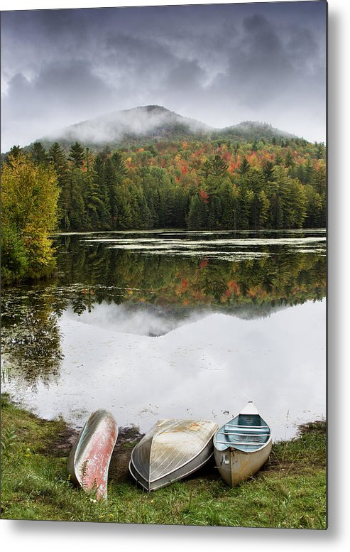 Adirondack Metal Print featuring the photograph Flavor Of The Adirondacks by Brendan Reals