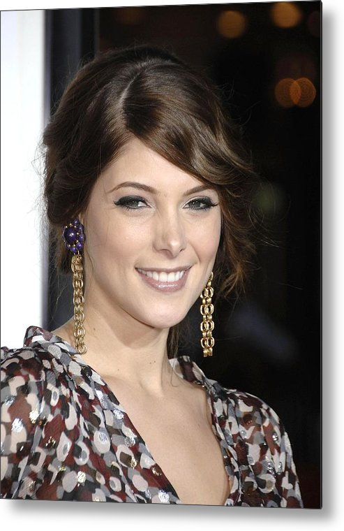 Premiere Of Sex Drive Metal Print featuring the photograph Ashley Greene At Arrivals For Premiere by Everett