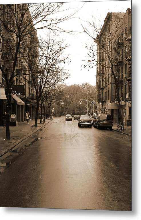 East Village Metal Print featuring the photograph East Village In Winter by Utopia Concepts
