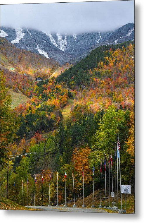 Mountain Metal Print featuring the photograph Peaked by Mark Papke