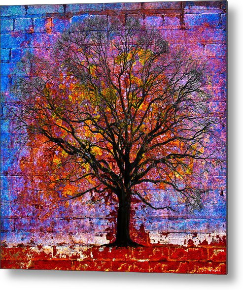 Tree Metal Print featuring the photograph Tree Of Life by David Clanton