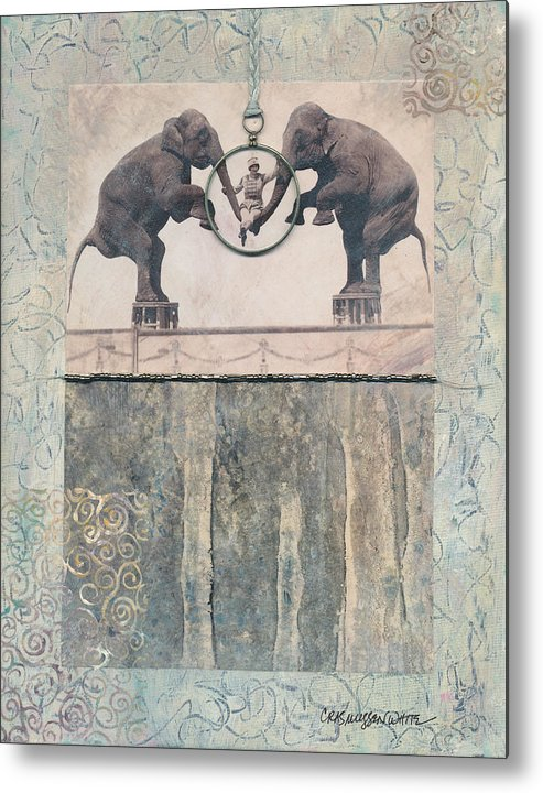 Magic Metal Print featuring the mixed media Dream Of Love by Casey Rasmussen White