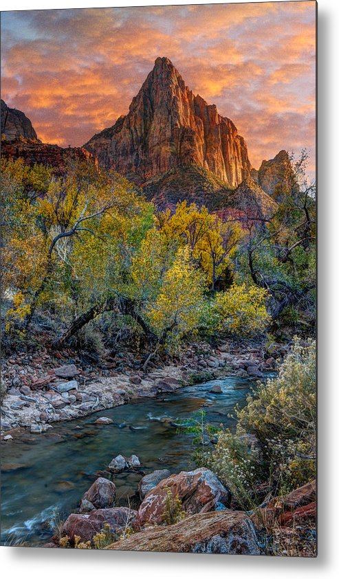 Zion National Park Metal Print featuring the photograph Zion National Park by Utah Images