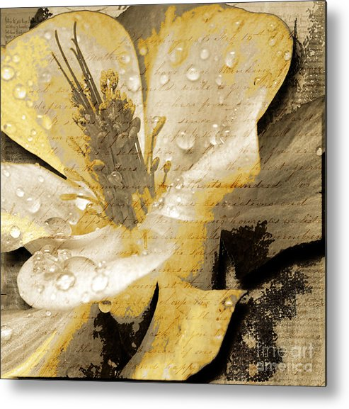 Metal Print featuring the mixed media Beauty IIi by Yanni Theodorou