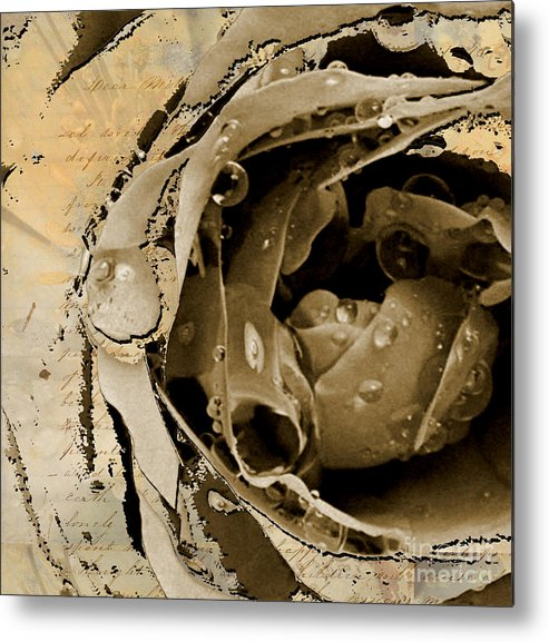 Metal Print featuring the mixed media Life II by Yanni Theodorou