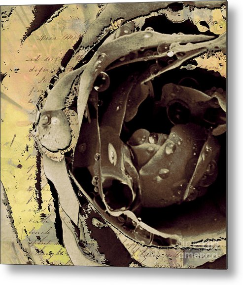 Metal Print featuring the mixed media Life Iv by Yanni Theodorou