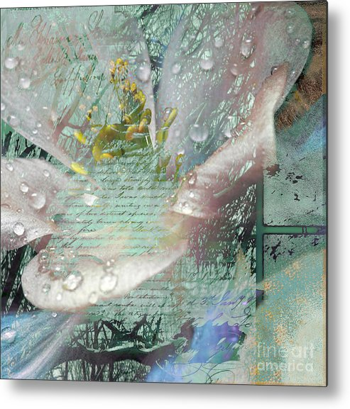 Metal Print featuring the mixed media Pop V by Yanni Theodorou