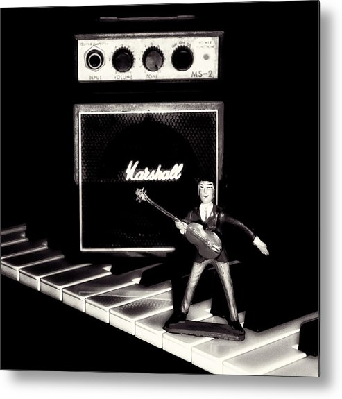 Beatles Metal Print featuring the photograph Yesterday - Beatle Paul by Bill Cannon