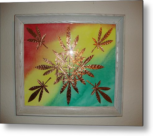 Dream Leaves One Metal Print by Scott Faucett