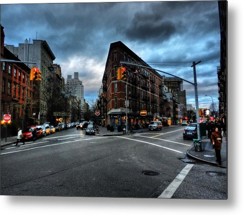 New York City Metal Print featuring the photograph New York City - Greenwich Village 012 by Lance Vaughn