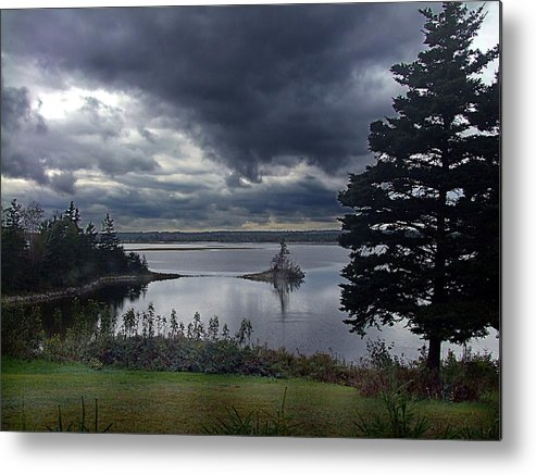 October Metal Print featuring the photograph October Sky by George Cousins