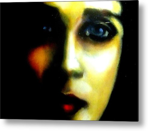 Expression Metal Print featuring the photograph Did I Say Love by Allen n Lehman