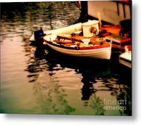 Boats Metal Print featuring the photograph Ripples And Reflections by Kevin Moore