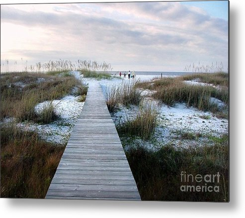 Dunes Metal Print featuring the photograph Across The Dunes by Julie Dant