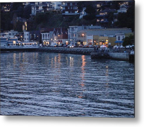 Sausalito Metal Print featuring the photograph A Scenery Of Sausalito At Dusk by Hiroko Sakai