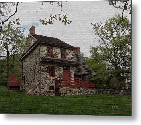 Historic Metal Print featuring the photograph Layfayette's Headquarters At Brandywine by Gordon Beck