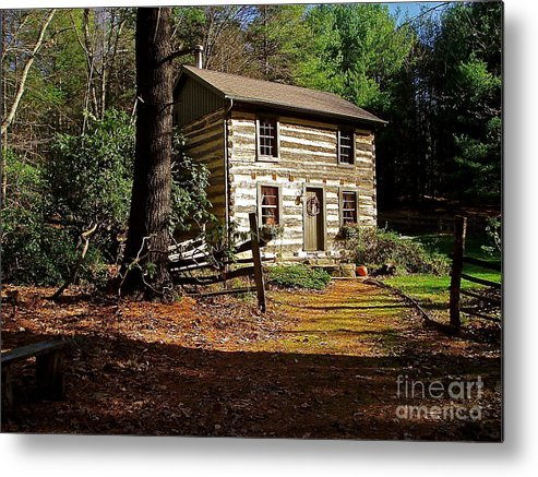 Cabin Metal Print featuring the photograph Paradise by E Robert Dee