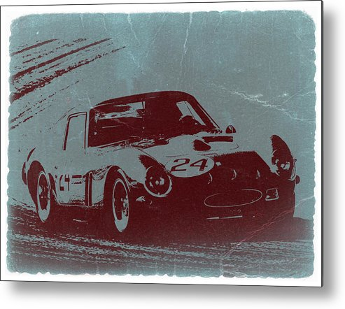 Ferrari Gto Metal Print featuring the photograph Ferrari Gto by Naxart Studio