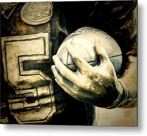 Joan Carroll Metal Print featuring the photograph Frozen In Time by Joan Carroll