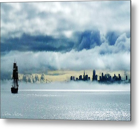 San Francisco Metal Print featuring the photograph Passage by Sabine Stetson