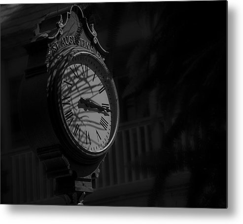 B&w Metal Print featuring the photograph Somewhere Someone Is Thinking Of You by Mario Celzner