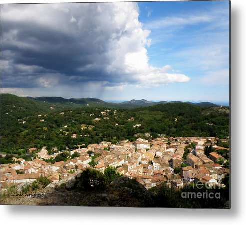 Provence Metal Print featuring the photograph Sun And Rain by Lainie Wrightson