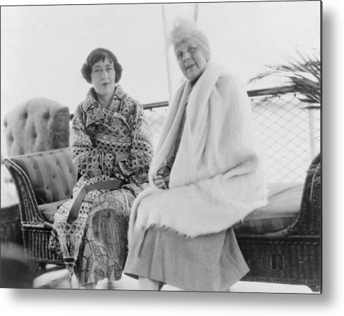 History Metal Print featuring the photograph First Lady Florence Harding 1860-1924 by Everett
