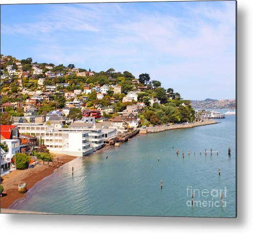 Sausalito Metal Print featuring the photograph Sausalito California by Jack Schultz