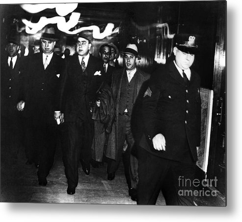 1931 Metal Print featuring the photograph Alphonse Capone (1899-1947) by Granger