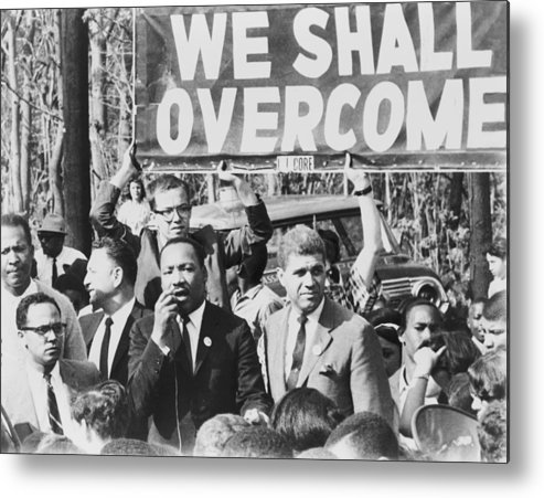 History Metal Print featuring the photograph Martin Luther King, Jr. 1929-1968 by Everett