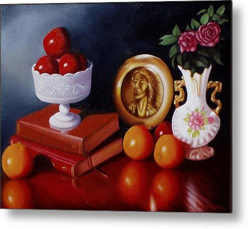 Still Life Metal Print featuring the painting Bravo by Gene Gregory