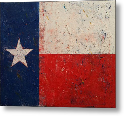 Art Metal Print featuring the painting Lone Star by Michael Creese