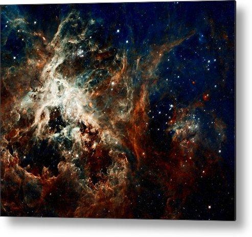 Hubble Metal Print featuring the photograph Tarantula Nebula by Amanda Struz
