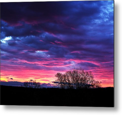 Tim Buisman Metal Print featuring the photograph Vibrant Sunrise by Tim Buisman