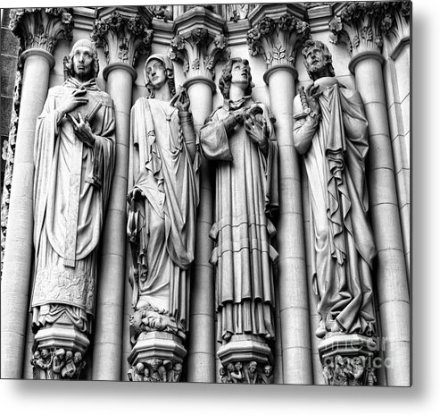 Harlem Metal Print featuring the photograph Saint John The Divine by Anne Raczkowski
