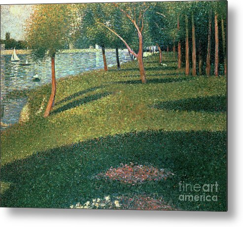 Famous Metal Print featuring the painting La Grande Jatte by Georges Pierre Seurat