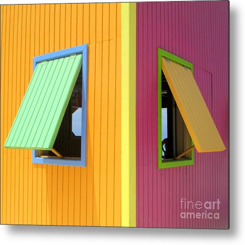 Caribbean Corner Metal Print featuring the photograph Caribbean Corner 3 by Randall Weidner