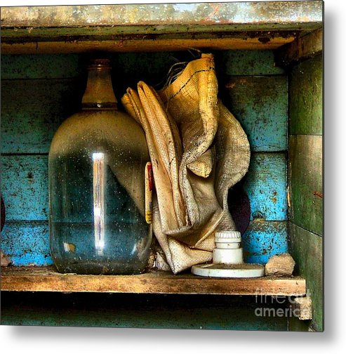 Still Life Metal Print featuring the photograph The Dust Gatherers by Julie Dant