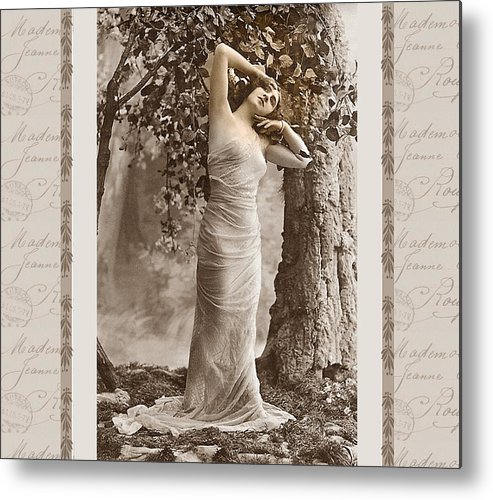 Vintage Metal Print featuring the photograph Dream Of The Night by Mary Morawska