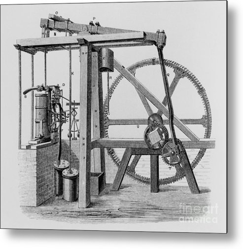 Engine Metal Print featuring the photograph Old Bess Steam Engine by SPL and Science Source