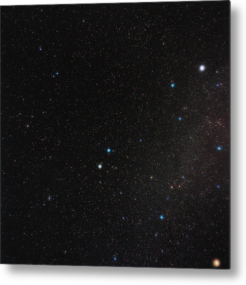 Gemini Metal Print featuring the photograph Gemini Constellation by Eckhard Slawik
