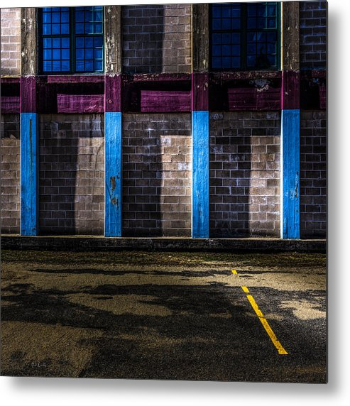 Bates Metal Print featuring the photograph Bates Mill Morning Light by Bob Orsillo
