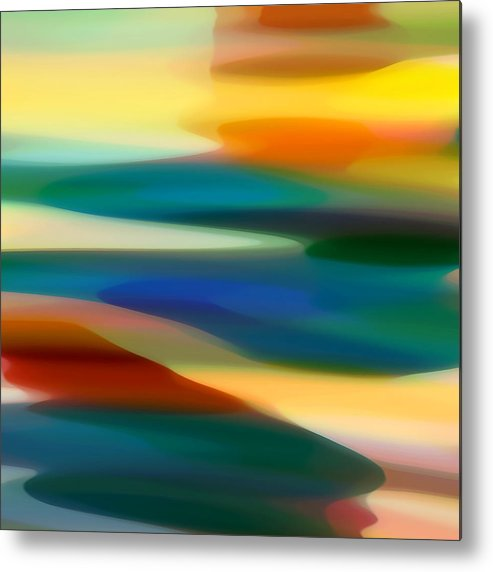 Fury Metal Print featuring the painting Fury Seascape 5 by Amy Vangsgard