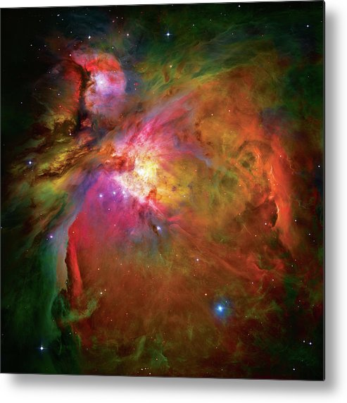 Orion Nebula Metal Print featuring the photograph Into The Orion Nebula by The Vault - Jennifer Rondinelli Reilly
