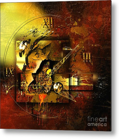 Highly Imaginative Metal Print featuring the digital art More Than The Reality by Franziskus Pfleghart
