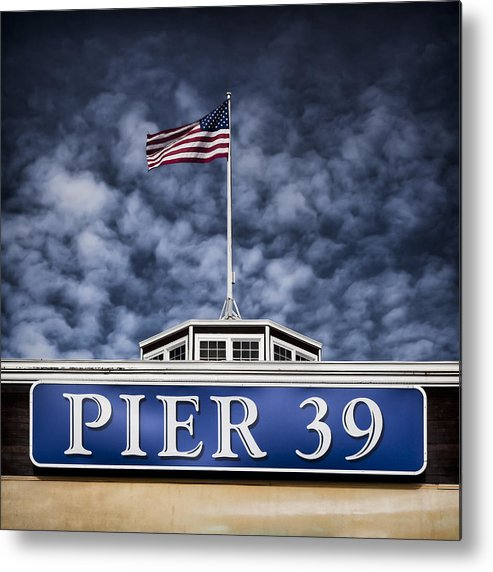 Pier 39 Metal Print featuring the photograph Pier 39 by Dave Bowman