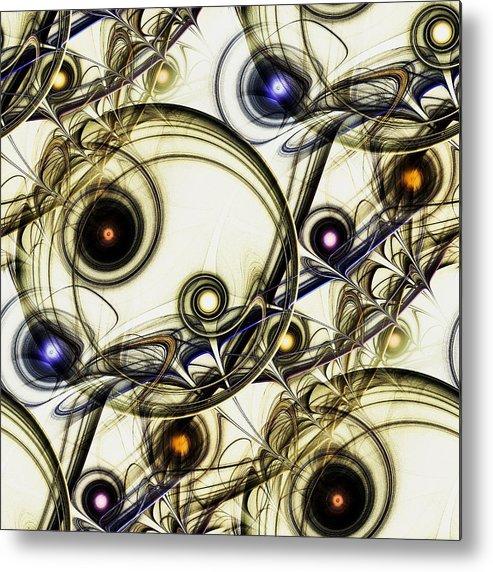 Malakhova Metal Print featuring the digital art Rejuvenation by Anastasiya Malakhova