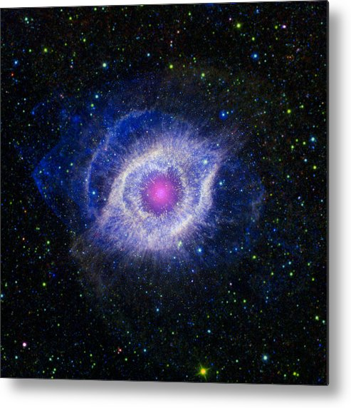 3scape Photos Metal Print featuring the photograph The Helix Nebula by Adam Romanowicz