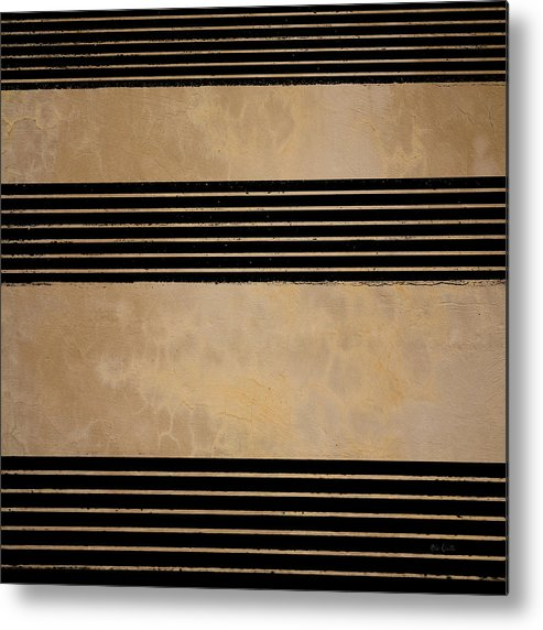 Abstract Metal Print featuring the photograph Three Steps by Bob Orsillo